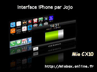 Interface iPhone par Jojo